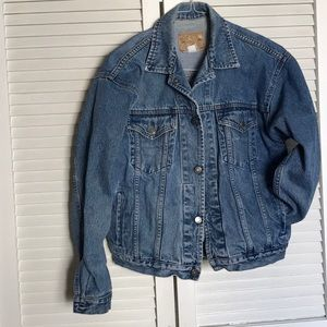 GAP jean jacket. Denim blue jacket.